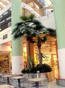 Konstgjorda palmer