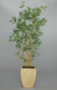 Flamskyddsbehandlad konstgjord växt. Bambu.