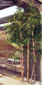 Konstgjorda växter. Stora bambu.