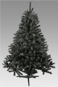 Plastgran svart. En modern gran. Julgransfot ingår.