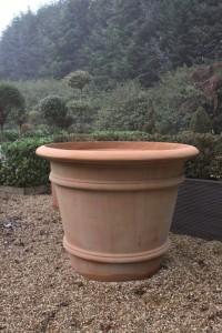 Klassisk terracotta kruka