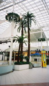 Konstgjorda palmer 14 meter höga