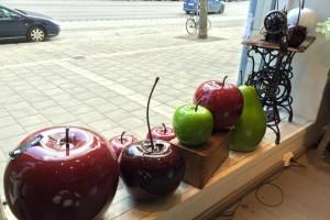 Stora porslinsfrukter hos wexter